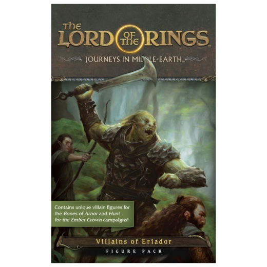 The Lord of the Rings: Journeys in Middle-earth - Villains of Eriador Figure Pack (Exp.) i gruppen SÄLLSKAPSSPEL / Expansioner hos Spelexperten (FJME04)
