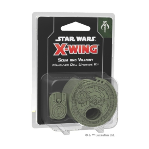 Star Wars: X-Wing 2nd Ed - Scum and Villainy Maneuver Dial Upgrade Kit (Exp.)
