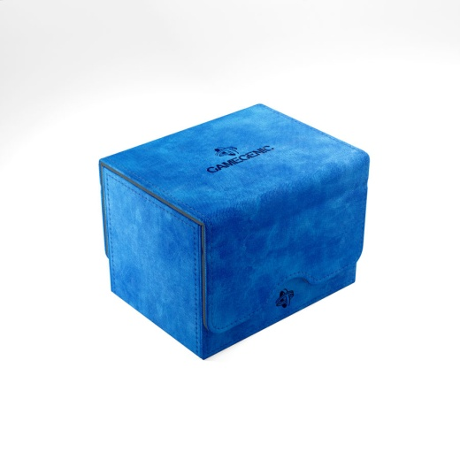 GameGenic Sidekick 100+ Convertible Deck Box (Blue)