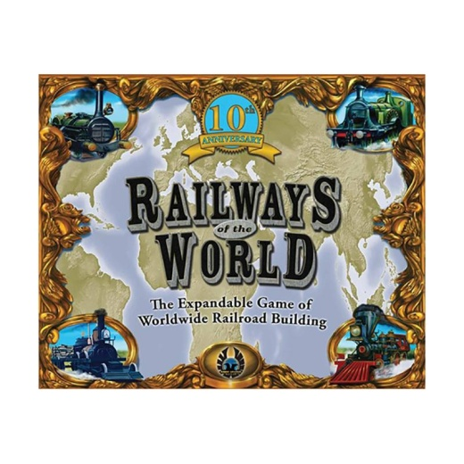 Railways of the World (10th Anniversary Edition) i gruppen SÄLLSKAPSSPEL / Strategispel hos Spelexperten (GRY102148)