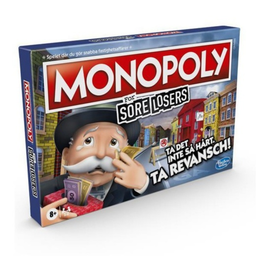 Monopoly: For Sore Losers (Swe.)