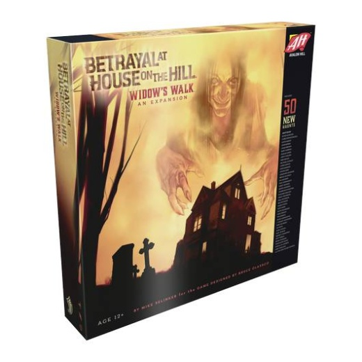 Betrayal at House on the Hill: Widow's Walk (Exp.) i gruppen SÄLLSKAPSSPEL / Expansioner hos Spelexperten (HASC0141)