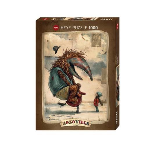 Heye Pussel: Zozoville - Spring Time 1000 Bitar