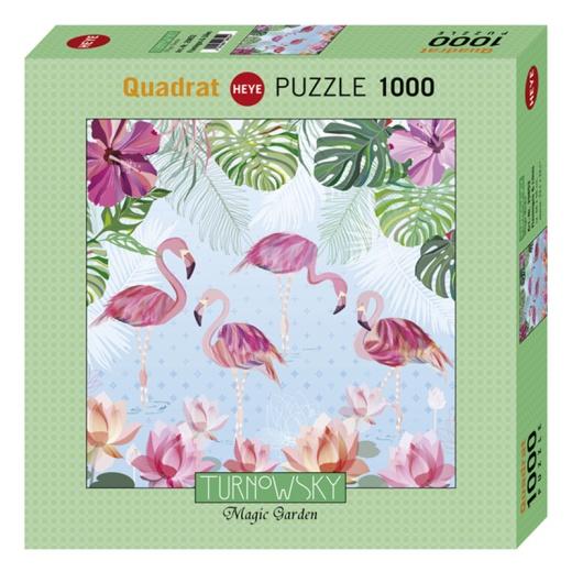 Heye Pussel: Flamingos & Lilies 1000 Bitar