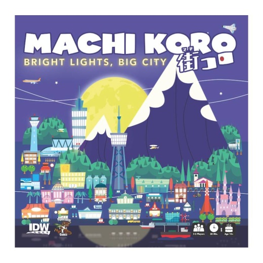 Machi Koro: Bright Lights, Big City (Exp.)