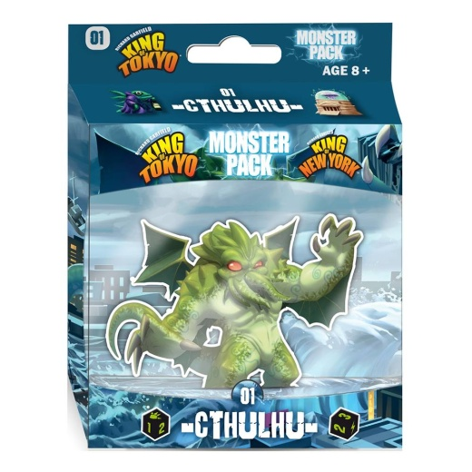 King of Tokyo/New York: Monster Pack Cthulhu (Exp.)