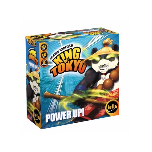 King of Tokyo: Power Up! (Exp.) i gruppen SÄLLSKAPSSPEL / Expansioner hos Spelexperten (IEL51368)