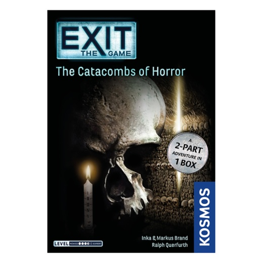 Exit: The Game The Catacombs of Horror i gruppen SÄLLSKAPSSPEL / Strategispel hos Spelexperten (KOS1423)