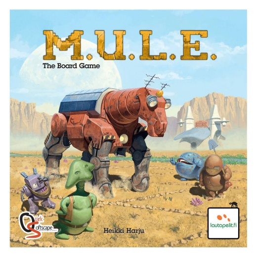 M.U.L.E. The Board Game i gruppen SÄLLSKAPSSPEL / Strategispel hos Spelexperten (LAU70500)