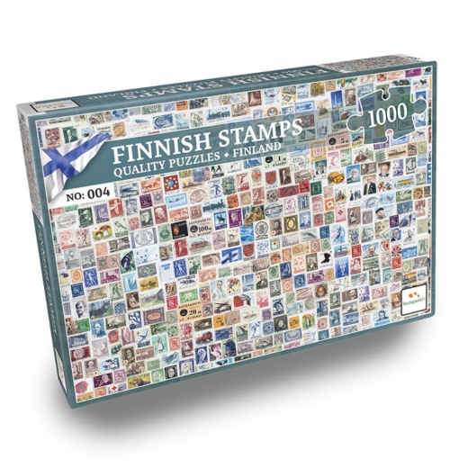 Nordic Puzzels: Finnish Stamps 1000 bitar