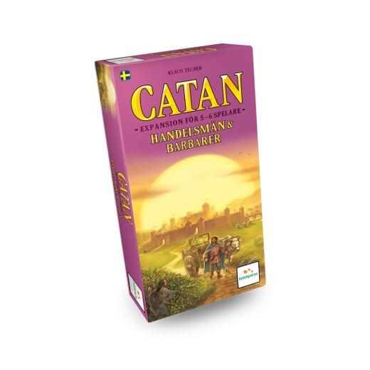 Catan: Handelsmän och Barbarer 5-6 (Exp.)