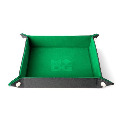Dice Tray Velvet - Green