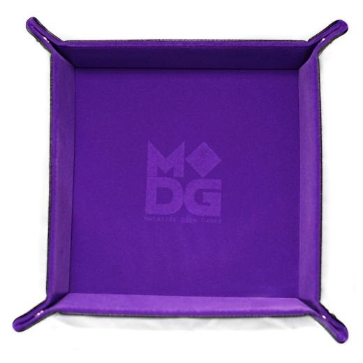 Dice Tray Velvet - Purple