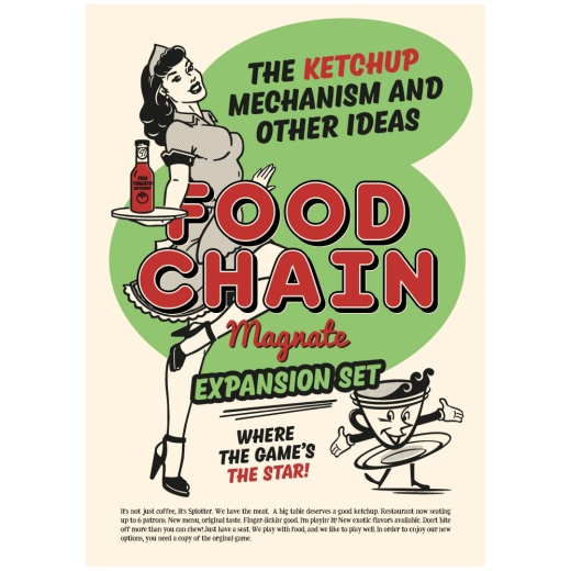 Food Chain Magnate: The Ketchup Mechanism & Other Ideas (Exp.)