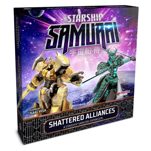 Starship Samurai: Shattered Alliances (Exp.)