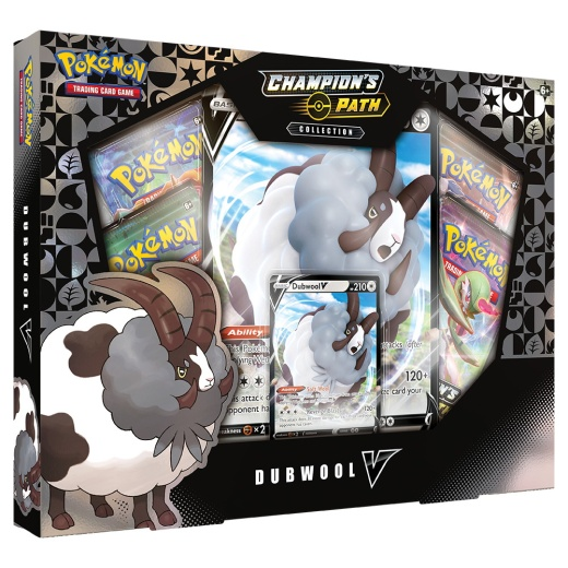 Pokémon TCG: Champion's Path Collection Dubwool V i gruppen SÄLLSKAPSSPEL / Pokémon hos Spelexperten (POK80773)
