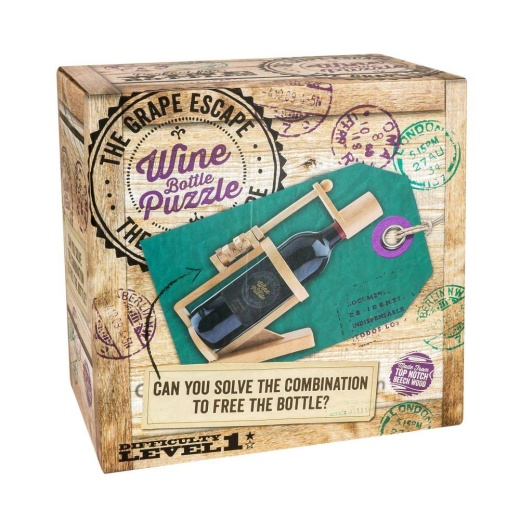 The Grape Escape - Wine bottle puzzle