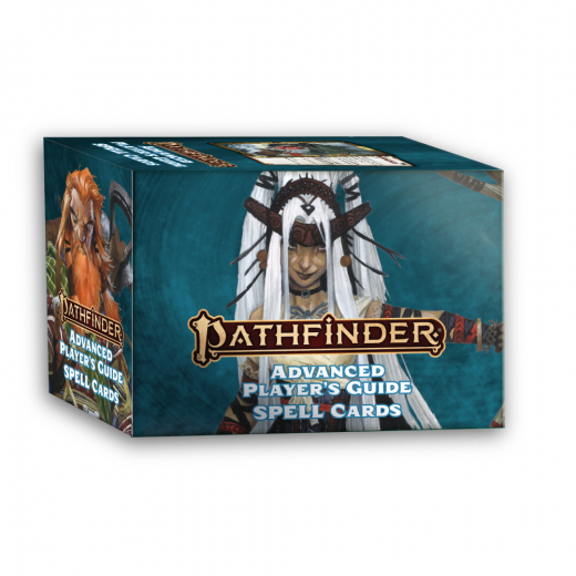 Pathfinder RPG 2nd: Spell Cards - Advanced Player's Guide