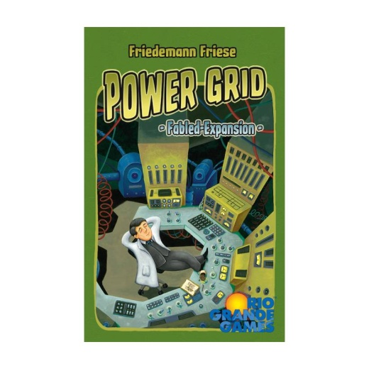 Power Grid: Fabled Cards (Exp.)