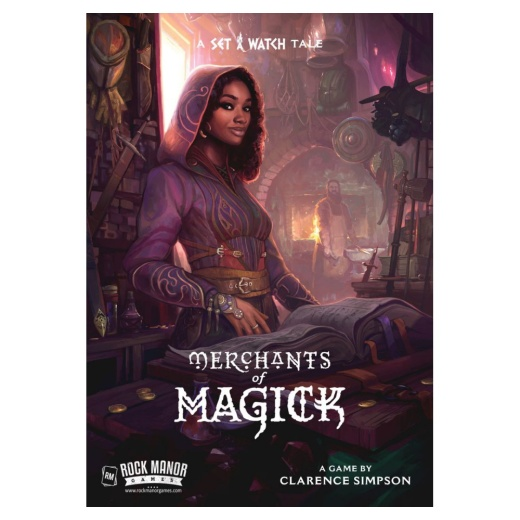 Merchants of Magick: A Set a Watch Tale i gruppen SÄLLSKAPSSPEL / Strategispel hos Spelexperten (RMA120)