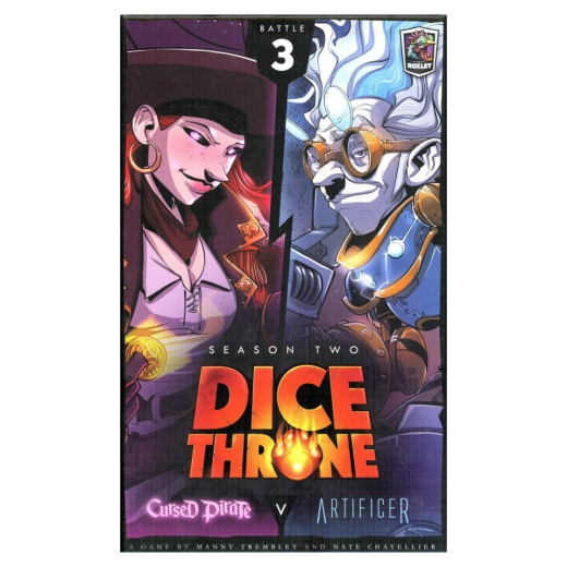 Dice Throne: Season Two - Cursed Pirate v. Artificer
