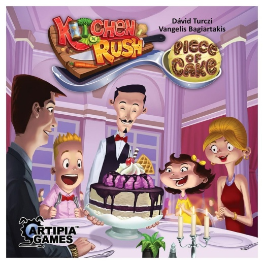 Kitchen Rush: Piece of Cake (Exp.)