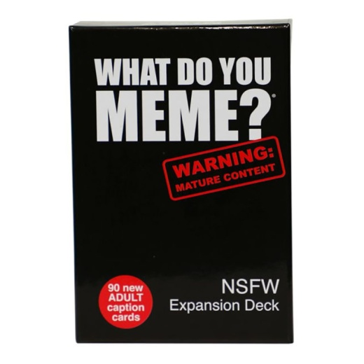 What Do You Meme NSFW Expansion Pack i gruppen SÄLLSKAPSSPEL / Expansioner hos Spelexperten (SBDK303)