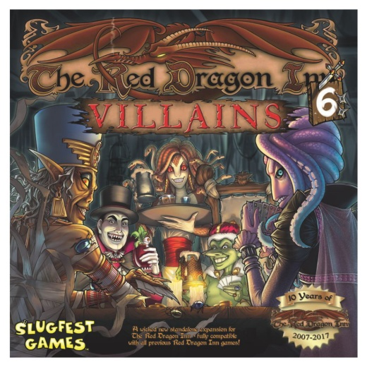 The Red Dragon Inn 6: Villains i gruppen SÄLLSKAPSSPEL / Kortspel hos Spelexperten (SFG026)