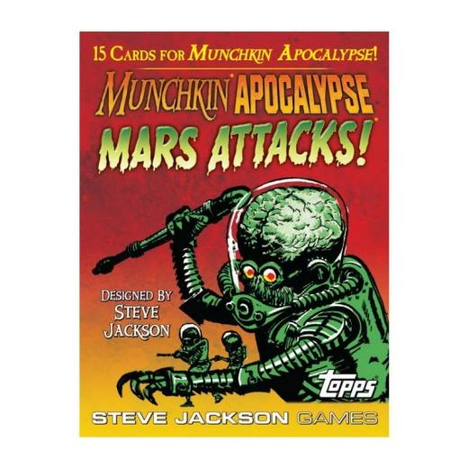 Munchkin Apocalypse: Mars Attacks! (Exp.)