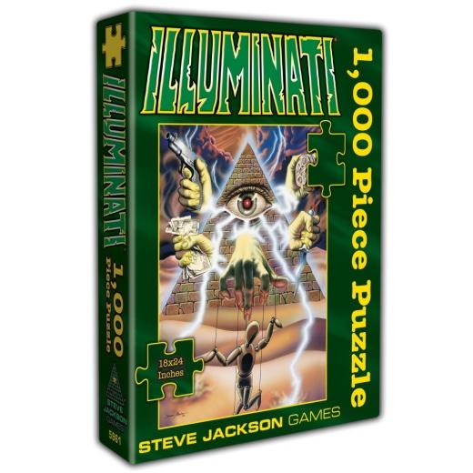SJG Pussel: Illuminati 1000 Bitar