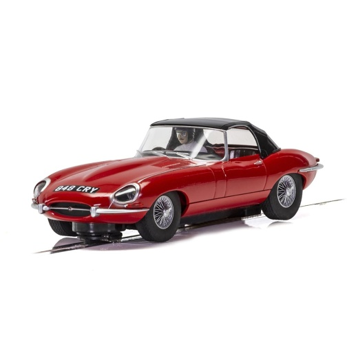 Scalextric 1:32 - Jaguar E-Type - Red 848CRY