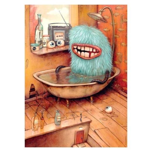 Heye Pussel: Bathtub 1000 bitar