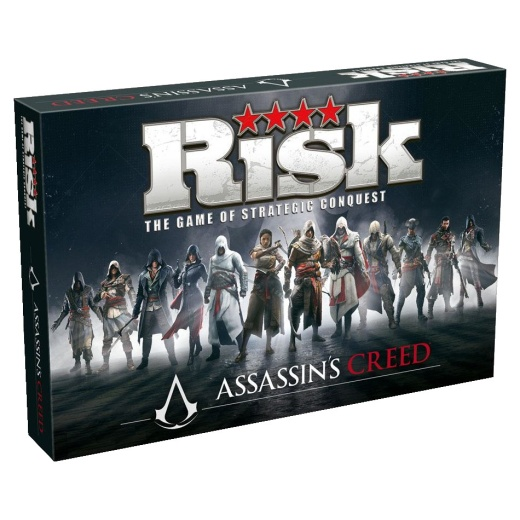 Risk: Assassin's Creed i gruppen SÄLLSKAPSSPEL / Strategispel hos Spelexperten (WIN2704)