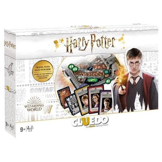 Cluedo: World of Harry Potter i gruppen SÄLLSKAPSSPEL / Familjespel hos Spelexperten (WIN28431)