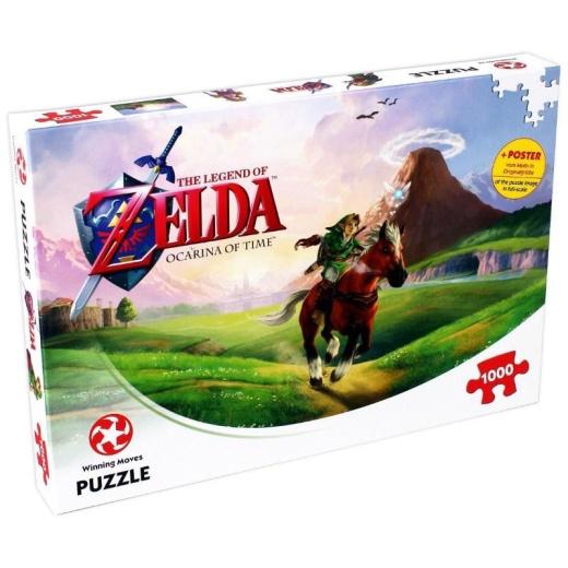 The Legend Of Zelda Pussel - Ocarina Of Time 1000 Bitar