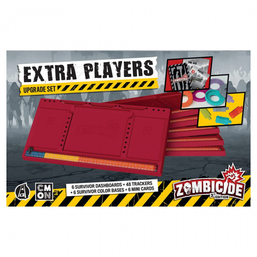 Zombicide 2nd Ed: Extra Players Upgrade (Exp.)