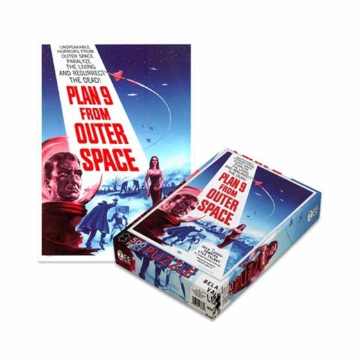 Pussel 500 bitar - Plan 9 From Outer Space