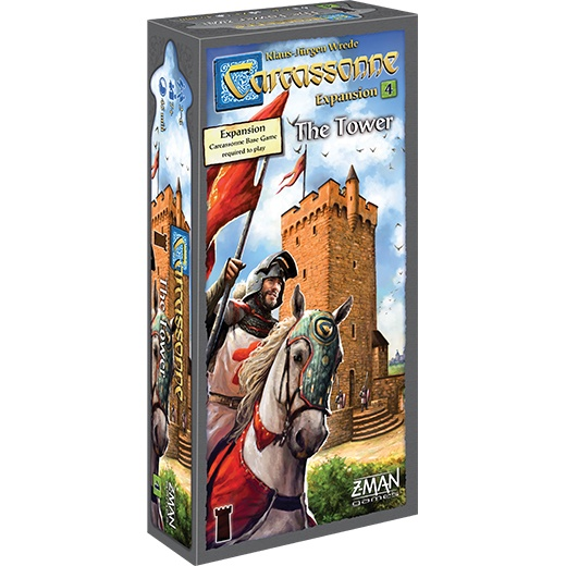 Carcassonne Expansion - The Tower (EN) i gruppen SÄLLSKAPSSPEL / Expansioner hos Spelexperten (ZMG78004)
