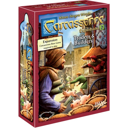 Carcassonne: Traders & Builders (Eng.) (Exp.)