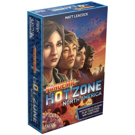 Pandemic Hot Zone North America (Eng.)