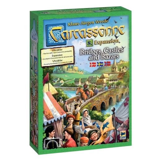 Carcassonne: Bridges, Castles, & Bazaars (Exp.) (Swe.)