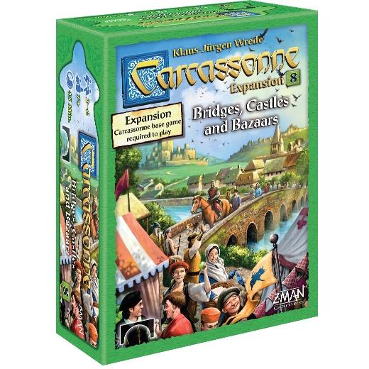 Carcassonne: Bridges, Castles, & Bazaars (Exp) (EN)