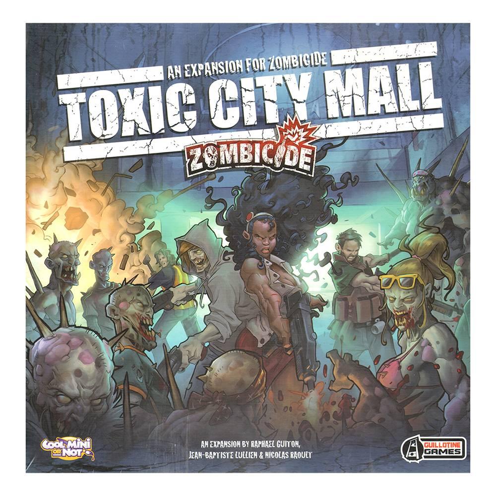 Toxic zombie 2 zombicide toxic city mall