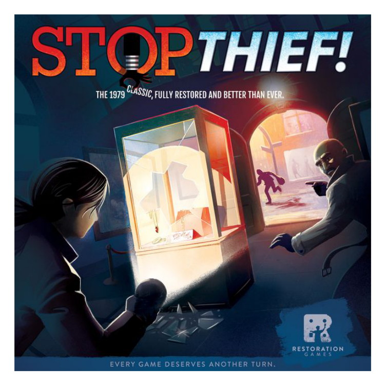 Stop Thief 2nd Edition Board Game by Restoration Games REO9008